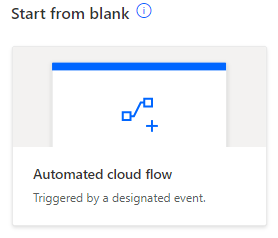 Automated cloud flow